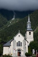 Saint Michel church in Chamonix