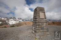 Galibier stone post