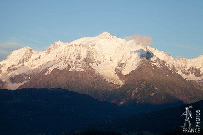 Sunset on the Mont Blanc