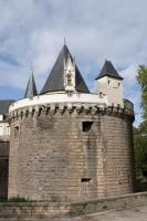 Nantes castle round tower