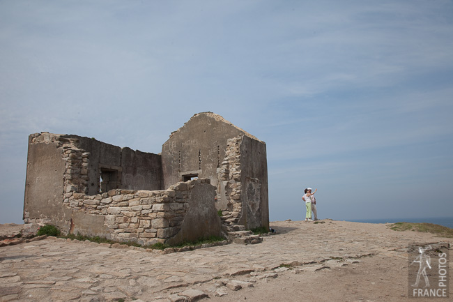 Ruin on the wild coast