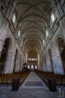 Saint-Mammès cathedral interior