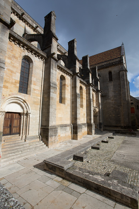 Cathedral of Langres in the morning