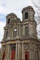 Langres cathedral front