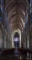 Inside the Troyes Cathedral