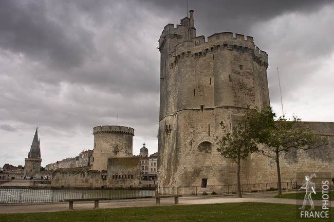 The three towers of La Rochelle