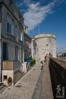 On the ramparts of La Rochelle