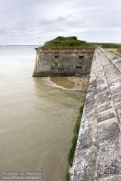 Oleron castle fortification