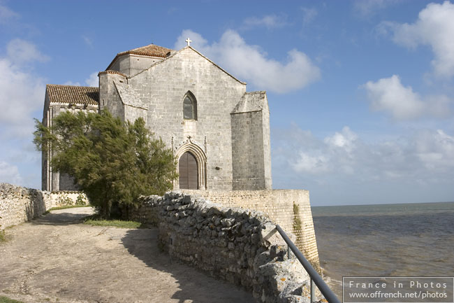 The church near the sea