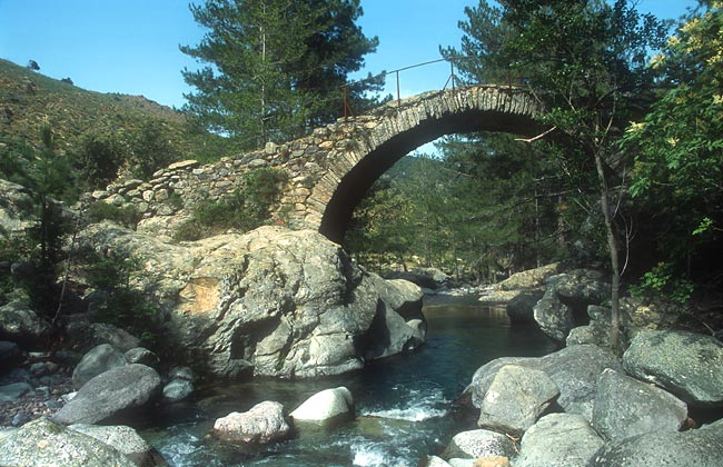 Genoan bridge over the Tartagine