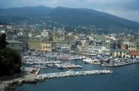 Old Harbour of Bastia : general view