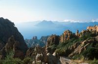 On top of the Calanche of Piana