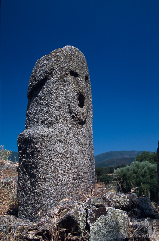 Easter island menhir at Filitosa