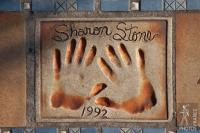 The hands of Sharon Stone