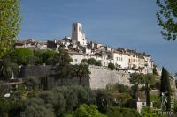 Saint Paul de Vence village view