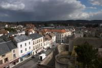 The town of Dourdan
