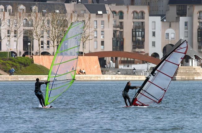 Urban windsurf