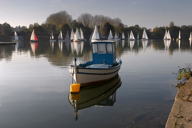 A Sailing club near Paris