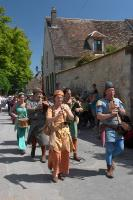 Musicians at the medieval parade