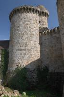 Madeleine castle round tower