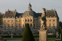 Vaux le Vicomte in the late afternoon