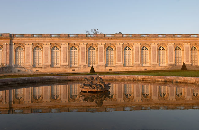 Grand Ttrianon basin in the evening | Versailles | France in Photos