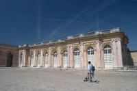 Entering the Grand Trianon