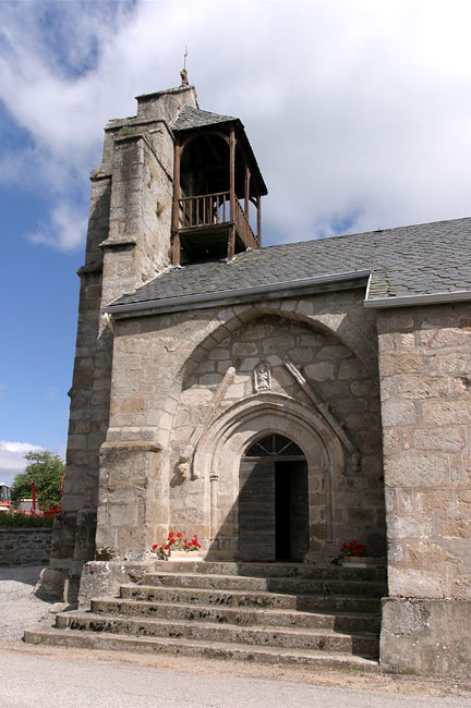 The church of Couffy sur Sarsonne