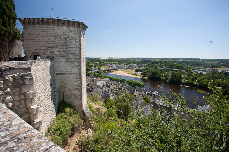 View on Chinon