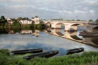 Quiet morning in Chinon