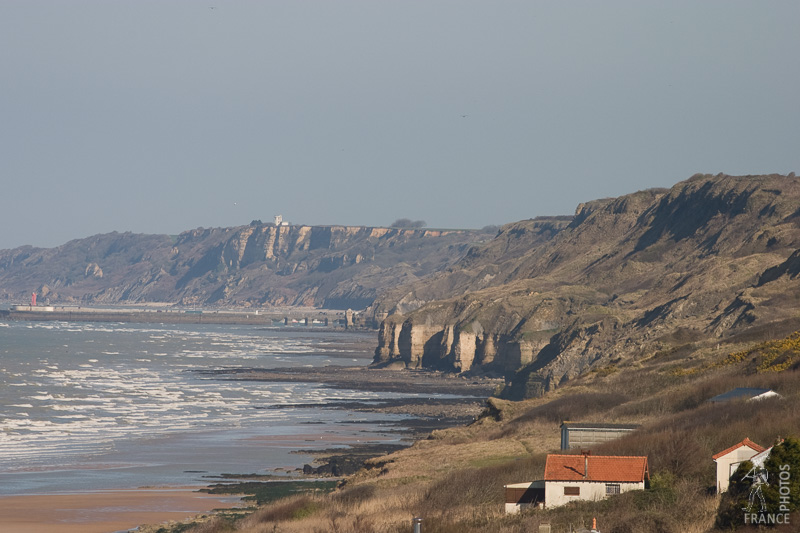Cliffs near Omaha beach