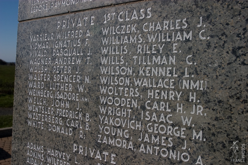 Names of the fallen