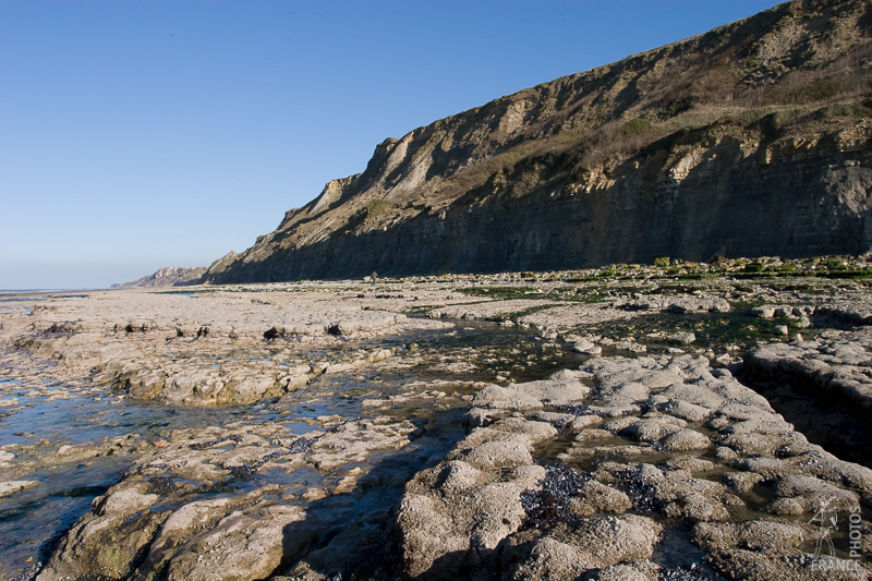 Port en Bessin cliffs