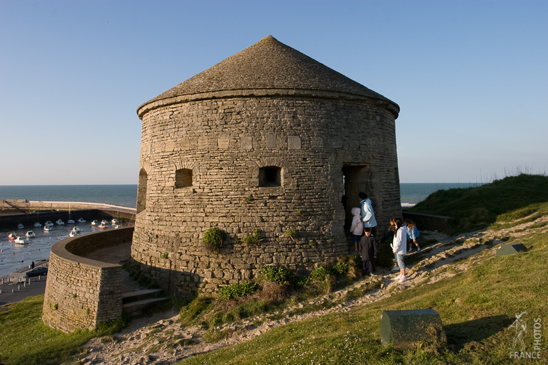 Port en Bessin fort