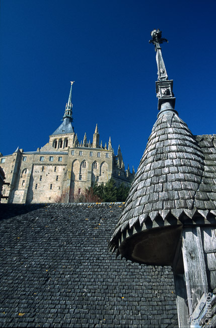 Mount Saint Michel roofs