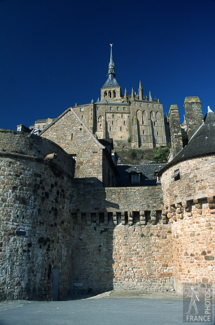 Mont Saint Michel remparts