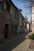 Cobbled street in Honfleur