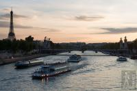 Traffic jams on the Seine