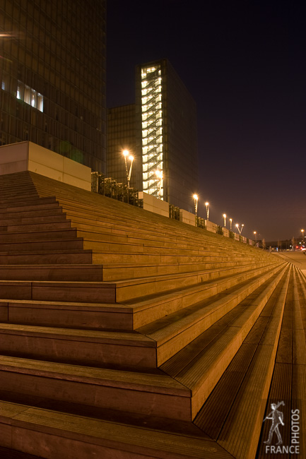 Steps at night