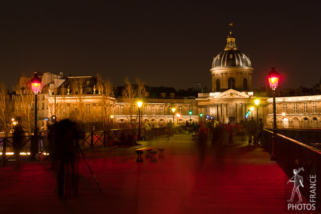 Photographing the pont des Arts