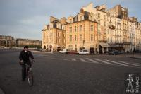 Cycling on the Pont Neuf