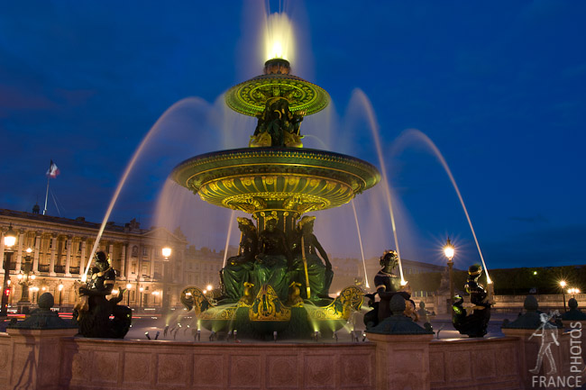 Place de la Concorde fountains