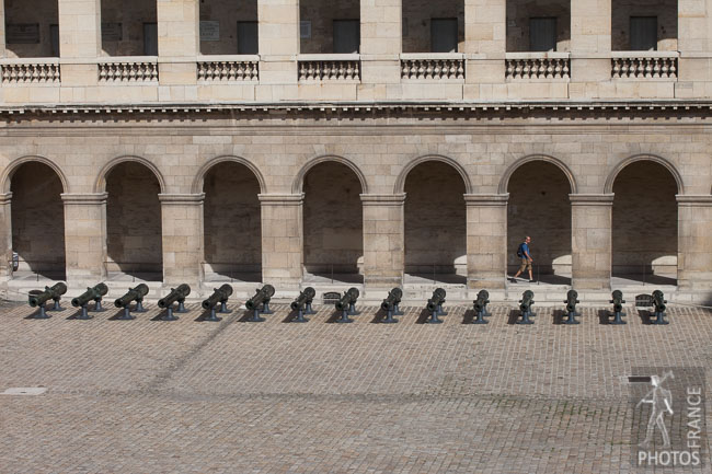 Summer in the Invalides