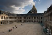 Invalides courtyard