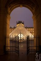 Louvre pyramid perspective
