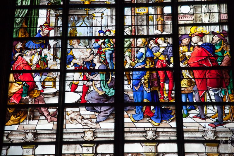 Saint Gervais church stained glass