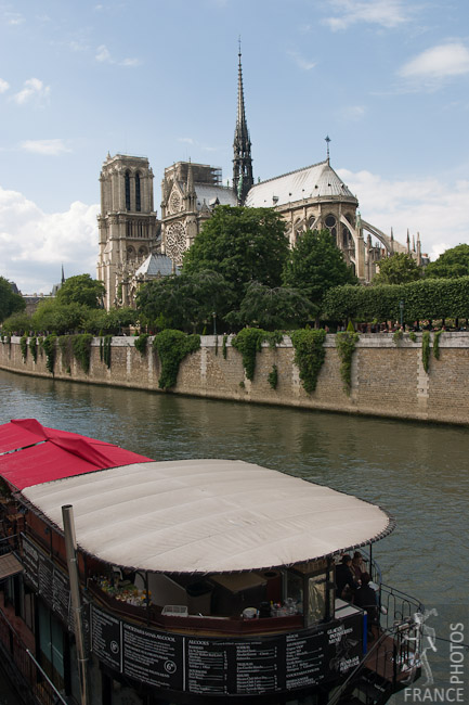 Notre Dame from the quays