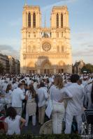 White dinner at Notre Dame