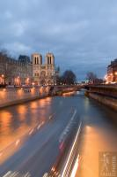 Heading for Notre Dame