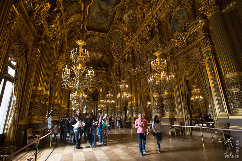 glass gallery photo from palais garnier opera house france in photos. Black Bedroom Furniture Sets. Home Design Ideas
